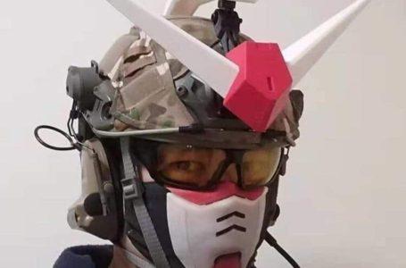 Pergh! Lain Macam Bentuk Topeng Penutup Mulut Tema Gundam Ni