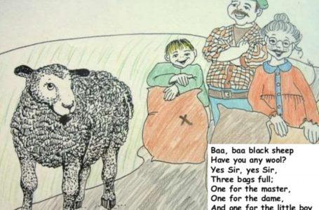 Lagu Kanak-Kanak 'Baa, Baa, Black Sheep' Tentang Protes Cukai? Ini Kisahnya