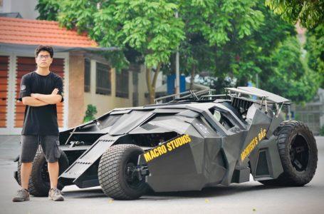 Minat Gila Watak Batman, Lelaki Belanja RM90K Untuk Hasilkan Batmobile Sendiri