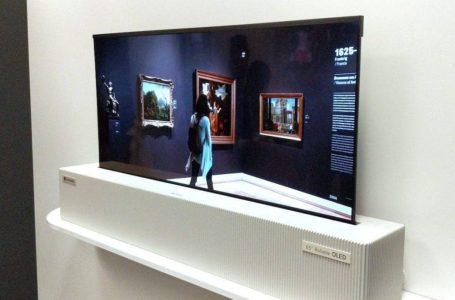 LG Perkenal Model TV Boleh Gulung Pertama Di Dunia