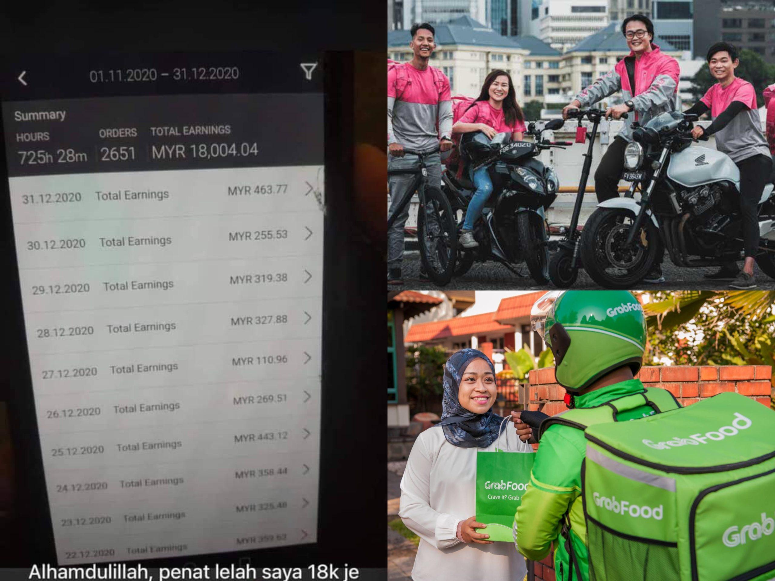 Gaji Rider Cecah RM18,000 Sebulan!