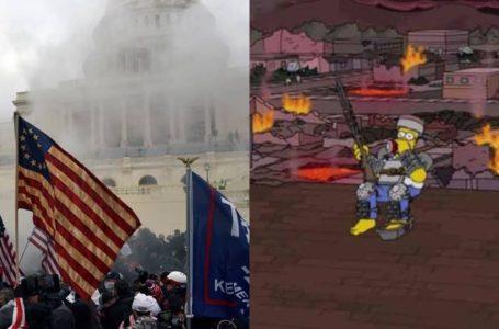 Rusuhan AS Sekali Lagi Buktikan Ramalan The Simpsons Selalu Jadi Kenyataan