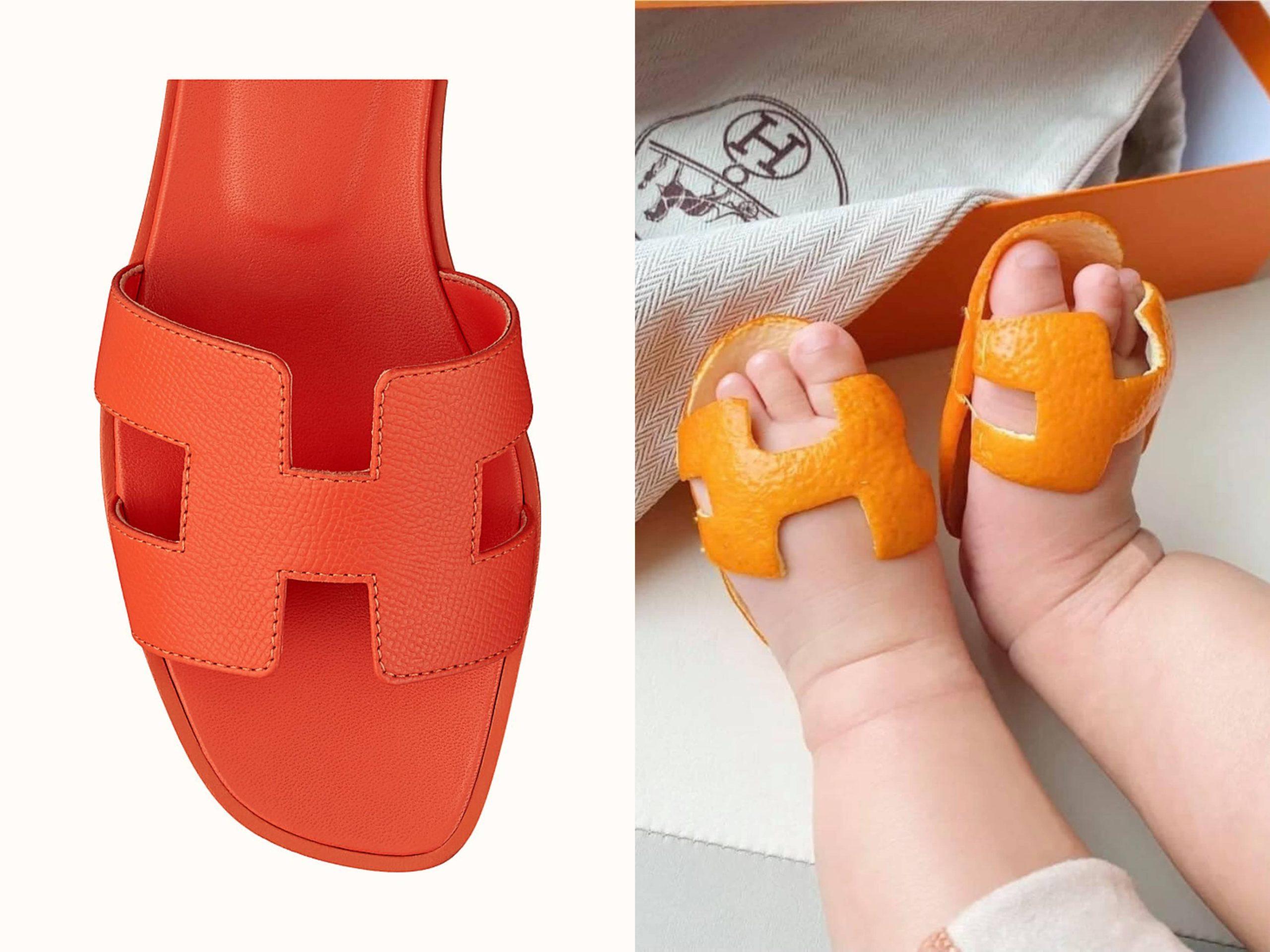 Terlebih Kreatif DIY Kasut Hermès Untuk Bayi