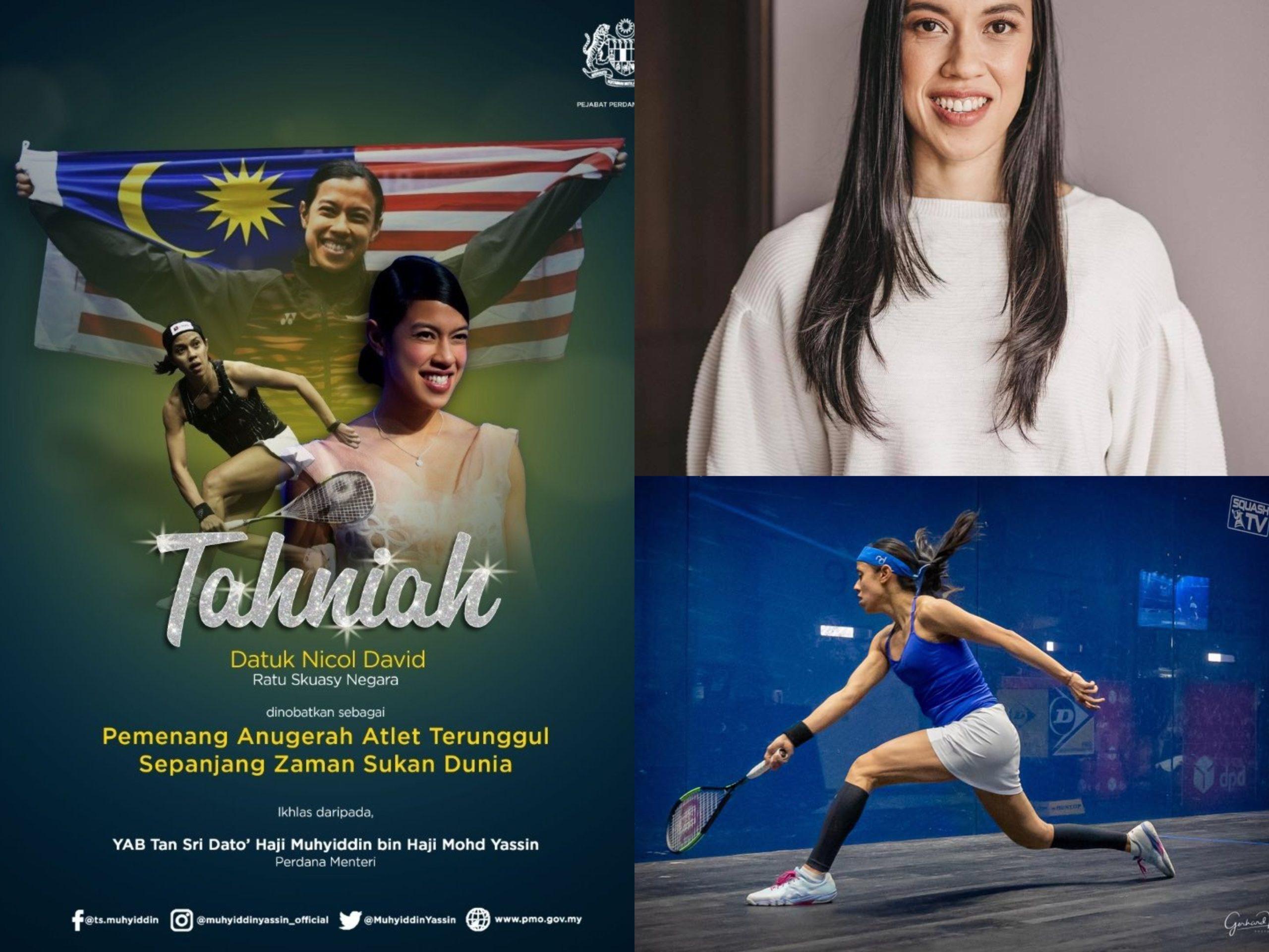 Datuk Nicol Ann David, Pemenang Anugerah Atlet Terunggul Sepanjang Zaman Sukan Dunia!
