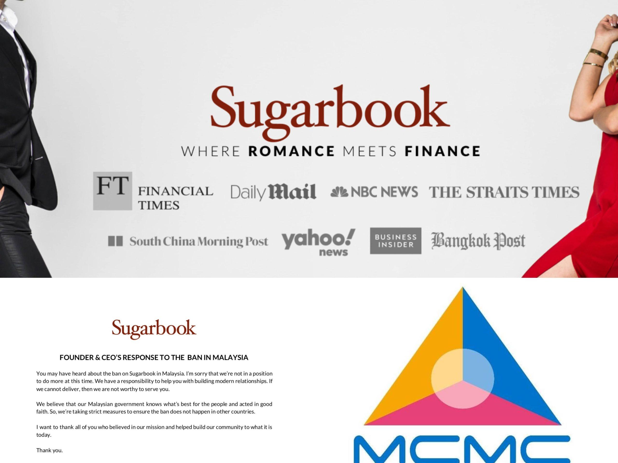 Aplikasi Viral 'Sugarbook' Disekat Oleh SKMM, Pengasasnya Diberkas Oleh Polis