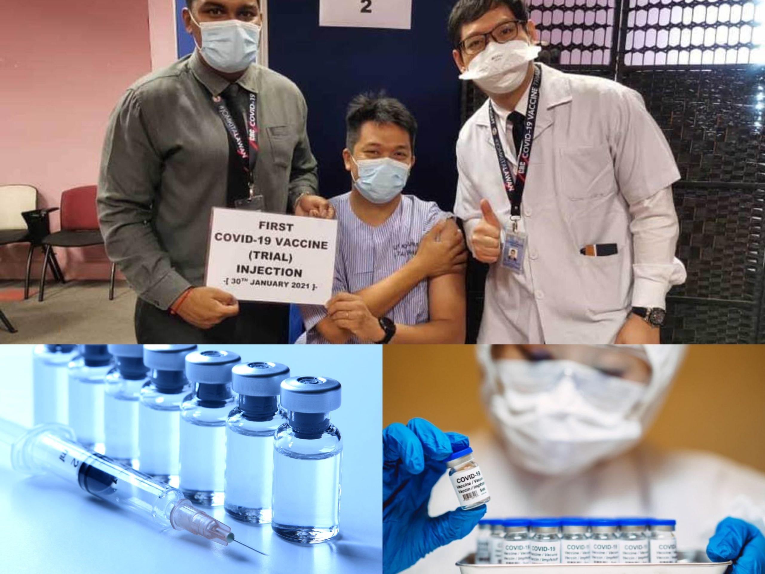 Kongsian Pengalaman Sukarelawan Yang Mengambil Vaksin Covid-19