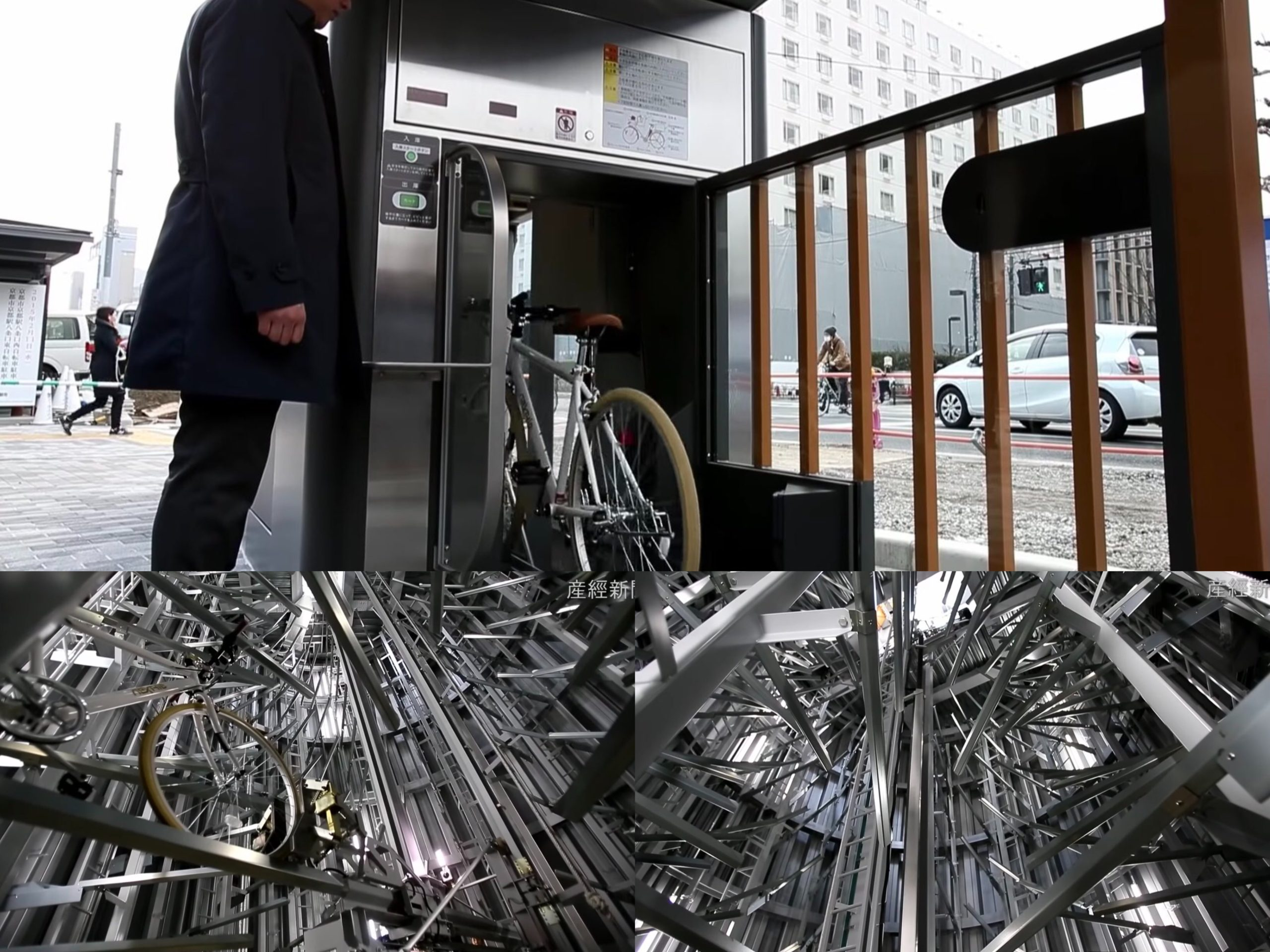 Tempat Letak Basikal Di Jepun & China! Lain Macam Teknologi Diorang!