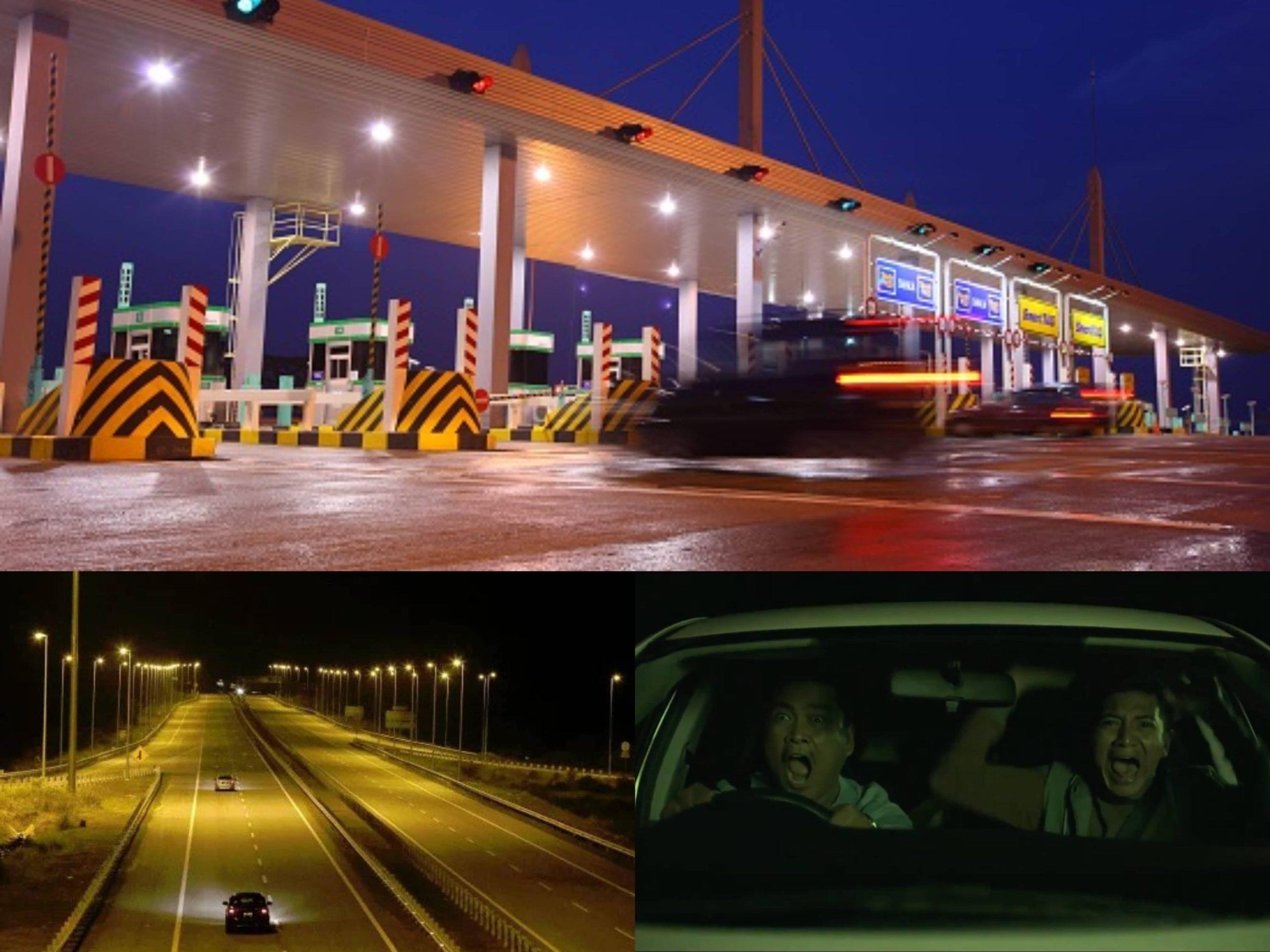 Pabila Ditemani 'Benda' Itu Ketika Memandu Di Highway Plus