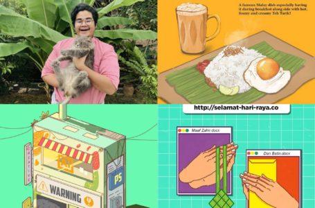 Naim Harith, Pelukis Malaysia Yang Kreatif Dengan Lukisan Makanan & Idea Pemikirannya!