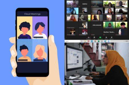 10 Aplikasi Menarik Untuk 'Meeting', 'Conference', Atau 'Online Class' Korang!
