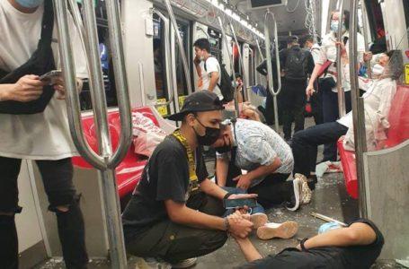 Dua LRT Bertembung Berdekatan Stesen KLCC, Lebih Kurang 213 Penumpang Mengalami Kecederaan