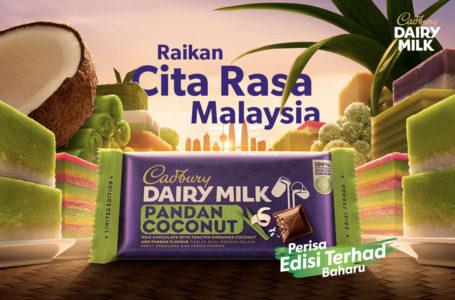 Raikan #MYCadburyFlavours dengan Cadbury Dairy Milk Pandan Kelapa Baru!